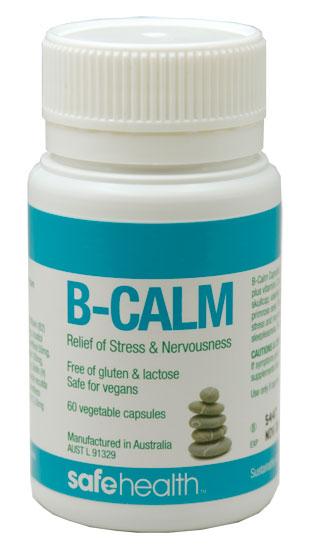 B Calm B-Calm 60 Vege Capsules