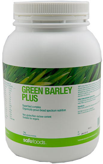Green Barley Plus 1kg Green Foods Sports Nutrition