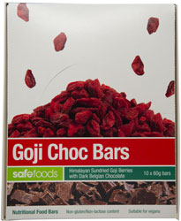 Food Bars - Goji Choc x 10 (Value Pack)