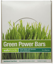 Food Bars - Green Power x 10 (Value Pack)