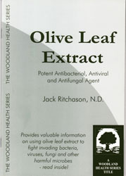 Olive Leaf Extract Book - J Ritchason ND