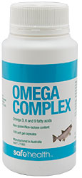 Omega Complex with Natural Vitamin E 100 Capsules