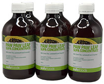 Paw Paw Leaf Supa Concentrate 500ml (6 pack)
